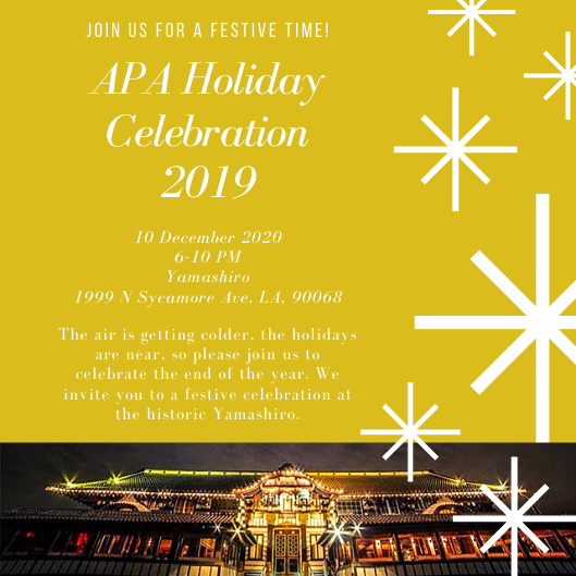 APA Holiday Celebration 2019