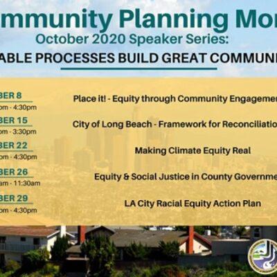 Community Planning Month 2020