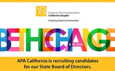 APA California is recruiting candidates for our State Board of Directors.