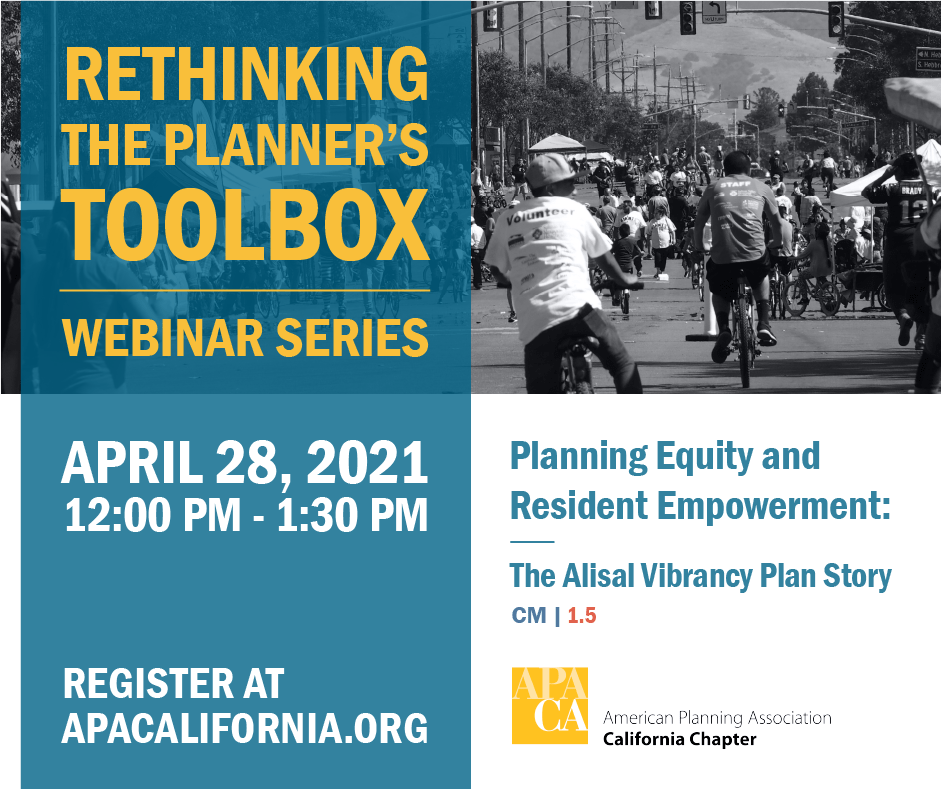 Rethinking the Planner's Toolbox Webinar Series
