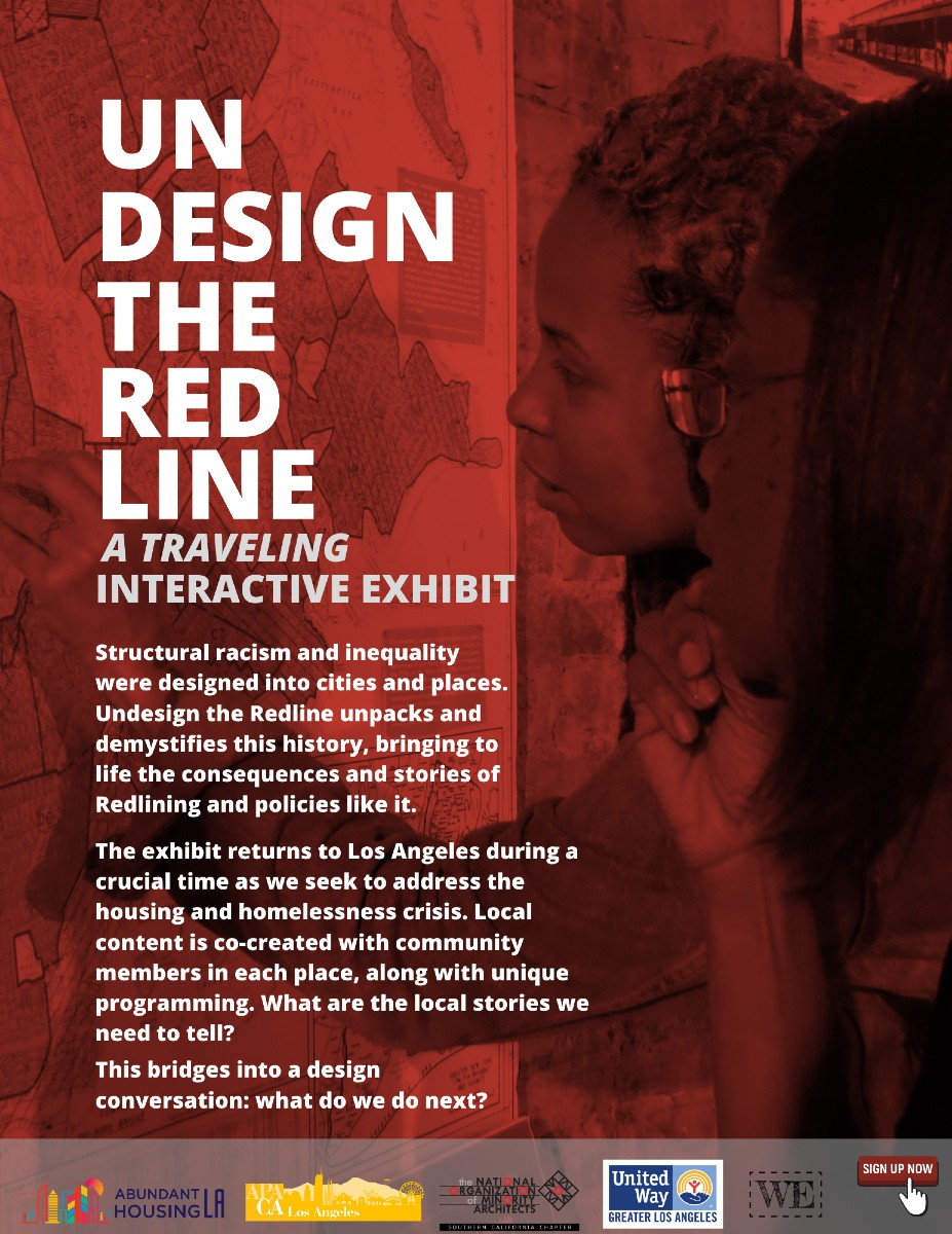 UnDesign the Redline February 17th Virtual Exhibit
